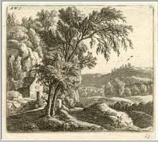 Anthonie Waterloo Landscape